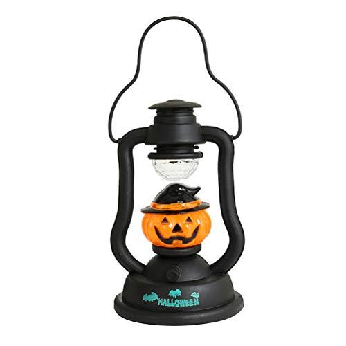 AMOS FUN Halloween kerosin Luz nocturna soun Ding y HOTcraze-DE Farol luces Halloween decorativa Handheld luces Amigos