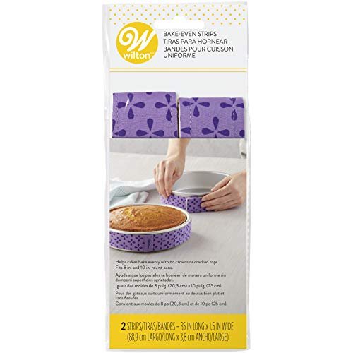 Wilton Bake Even Strip Set 2 Piece