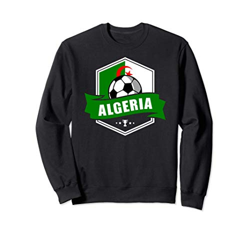 Algeria Trikot Fussball Fanartikel Geschenk 2020 2021 Sweatshirt
