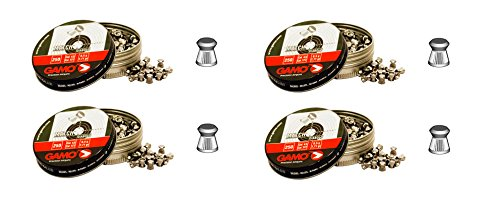 Gamo 4 latas de 250 perdigones Match Diabolo de Copa 5,5mm. Modelo 320025