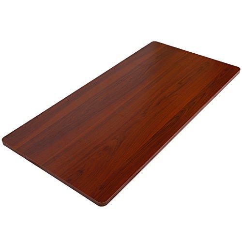 Flexispot オフィスデスク用天板 DIY用天板 学習机 勉強机 スタンディングデスク140×70cm PR1407-Mahogany