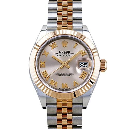 ロレックス ROLEX デイトジャスト 28 279171 サンダストローマ文字盤 腕時計 レディース (W202573) [並行輸入品]