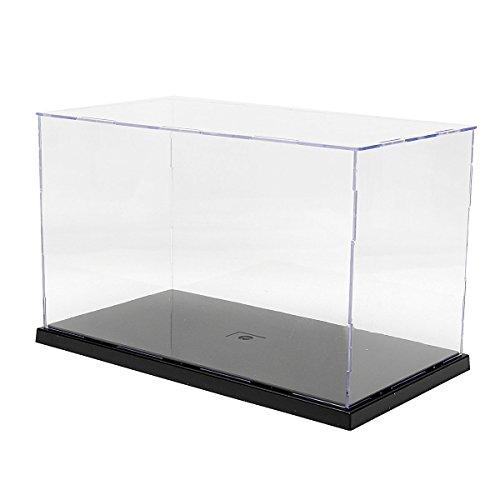 MASUNN 31x17x19cm transparant acryl display vitrine doos plastic stofdichte bescherming lade