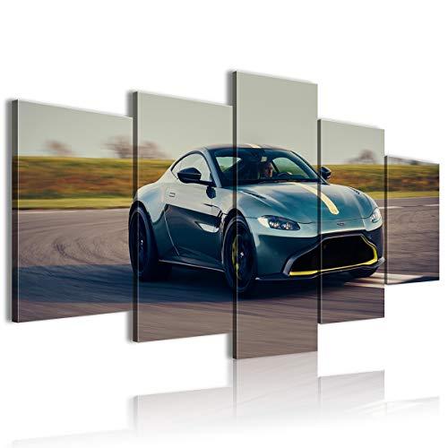 5 piezas Sharingan Poster Aston Martin Vantage Hotel 100 x 50 sin marco