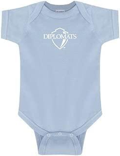 Franklin & Marshall Light Blue Infant Onesie 'Diplomats Official Logo'