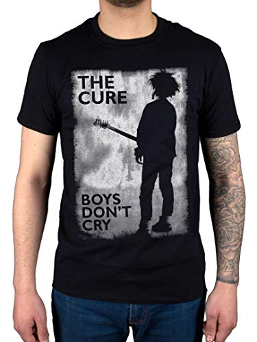 AWDIP Offiziell The Cure Boys Don't Cry Black and White T-Shirt