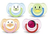 Philips Avent Soothers 6-18 Months, Assorted Colours/Designs, Pack of 2 - SCF182/34