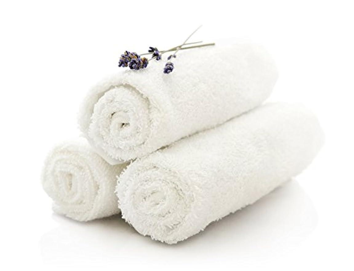 トン可能にする戦争プレミアムホワイトWashcloths for bathroom-hotel-kitchen-spa-gym-golf?–?すべての天然コットン、ソフトリングスパン、高吸収性ホテル仕様面タオル、12?x 12インチ?–?環境に優しい、bulk-packセット 48 ホワイト RS1212WHm-48
