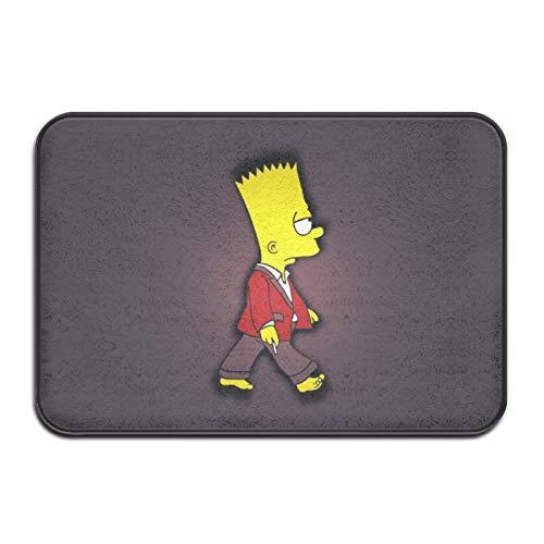 Simpsons - Felpudo antideslizante para interiores