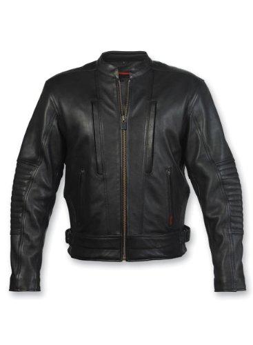 Big Sale Milwaukee Motorcycle Clothing Company Men's Sioux Falls Jacket (Black, X-Large)