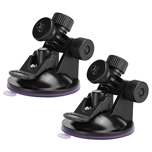 frenma 【𝐏𝐫𝐨𝐦𝐨𝐜𝐢ó𝐧 𝐝𝐞 𝐒𝐞𝐦𝐚𝐧𝐚 𝐒𝐚𝐧𝐭𝐚】 Soporte Multifuncional Duradero con Capacidad de adsorción de 2 Piezas Soporte de cámara Digital para monitoreo automotriz(Small Screw Head)