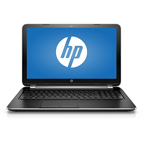 "2018 Newest Premium High Performance HP Laptop PC 15.6"" HD BrightView WLED-Backlit Display Intel Pentium N3540 Quad-Core Processor 4GB RAM 500GB Hard Drive HDMI DVD-RW WIFI Windows 10-Silver"