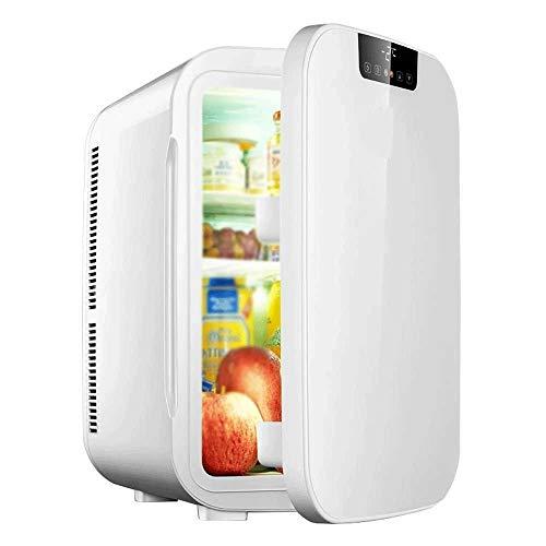 NXYJD Mini refrigerador/Calentador Compacto de 20 litros/refrigerador for vinos con termostato Digital + enfriamiento de Doble núcleo for automóviles, Viajes por Carretera, hogares, oficinas y dor