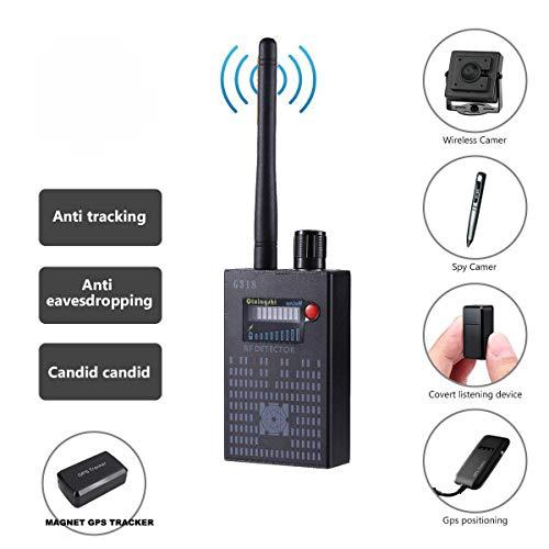 Super anti-spy rilevatore di segnale RF Bug GPS camera set, wireless sensibilità dispositivo GSM Finder, RF microspia telecamera wireless rilevatore di frequenza GSM CDMA GPS Tracker Finder