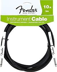 The Fender Performance Series Instrument Cables