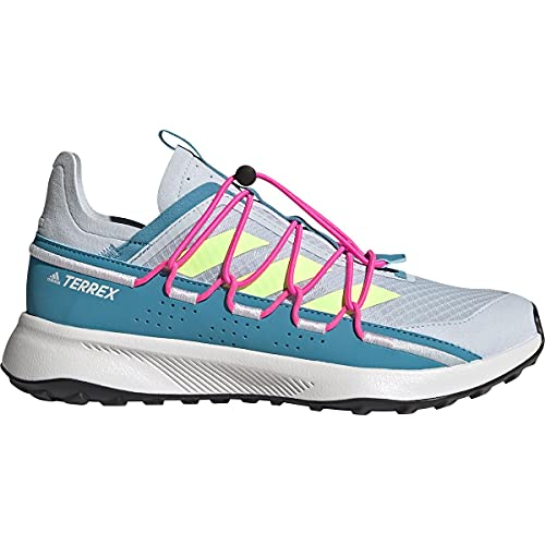 adidas Terrex Voyager 21 W, Zapatillas de Senderismo Mujer, AZUHAL/AMALRE/ROSCHI, 40 2/3 EU