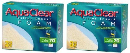 Aquaclear Foam Inserts, 3-Pack (6-Pack, 70-Gallon) by Hagen