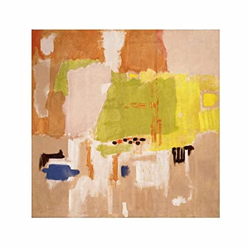 Mark Rothko color abstracto Cuadros Decoracion Foto Canvas Cuadro Lienzos Decorativos Decoración Pared Cuadros de Salón Cada Una Lmpreso (70x70cm (28x28inch), sin marco)