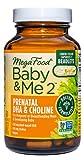 MegaFood, Baby & Me 2 Prenatal DHA & Choline,...