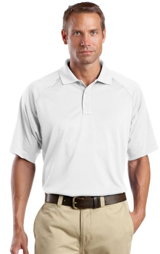 CornerStone® - Select Snag-Proof Tactical Polo. CS410 White M