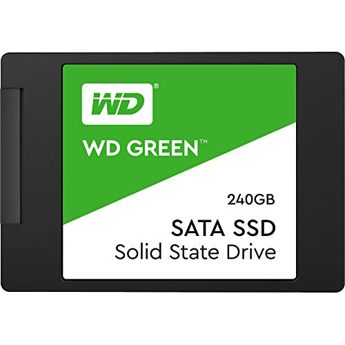 "Western Digital WD Green Interna SSD 2.5"" SATA, Verde, 240 GB"