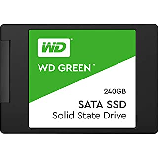 "Western Digital WDS240G2G0A Green 240GB 2.5"" SATA SSD 545R/430W MB/s 80TBW 3D NAND 7mm 3 Years Warranty (B076Y374ZH) 
