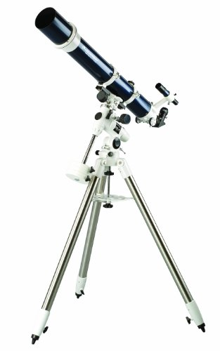 Celestron – Omni XLT 102 Refractor Telescope – Hand-Figured Refractor with XLT Optical Coatings – Manual German Equatorial EQ Mount with Setting Circles and Slow Motion Control – Includes Accessories