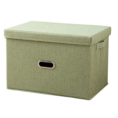EZSTAX opbergbox stoffen kist opbergbox slaapkamer accessoire organizer opbergdoos met deksel
