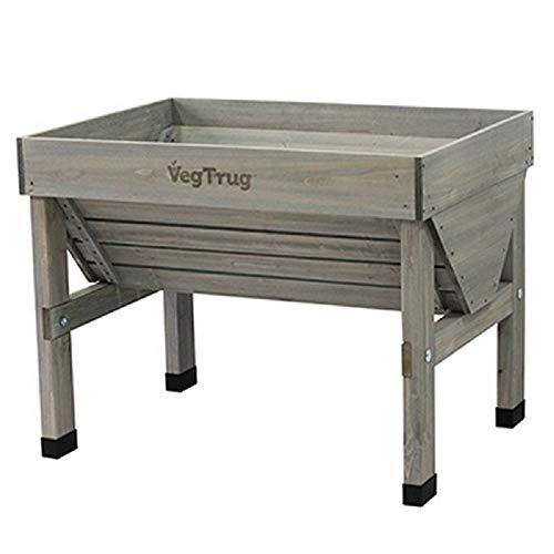 VegTrug Hochbeet Klassik 103x76x80 cm Farbe Grey- WASH
