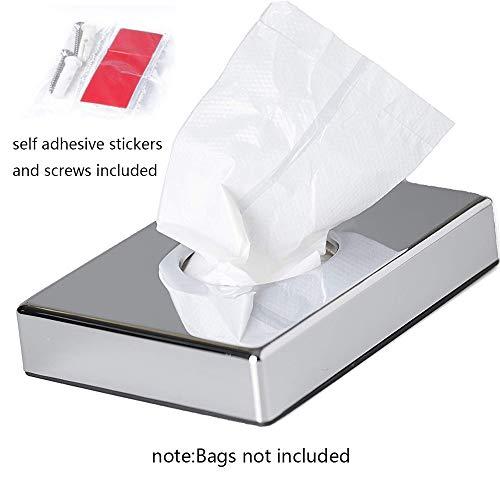 Hygienebeutel-Spenderhalter für Damen-Toilettenartikel Chrom-Finish-Hygienebeutel-Spender