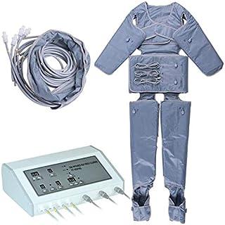 4YANG Trajes de cuerpo Ropa de sauna, Traje adelgazante de infrarrojo lejano Traje de spa casero Equipo de drenaje linfático de presoterapia infrarroja Enchufe EUR (aprobado por CE, ROHS)