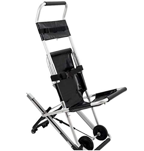 MS3C-100TS Lightweight Stair Evacuation Chair, Compact Emergency Stair Assist, Weight Capacity 350 lbs