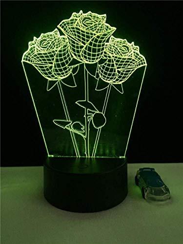 Luz de noche pequeña luz de noche 3D creativa forma de motocicleta todoterreno lámpara de mesa de moda colorida led decoración del hogar iluminación deportiva