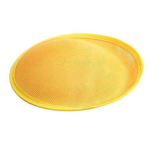Sharplace Chapeau Sinamay Fascinateur pour Femme Support Base DIY Fabrication de Chapeau - Orange