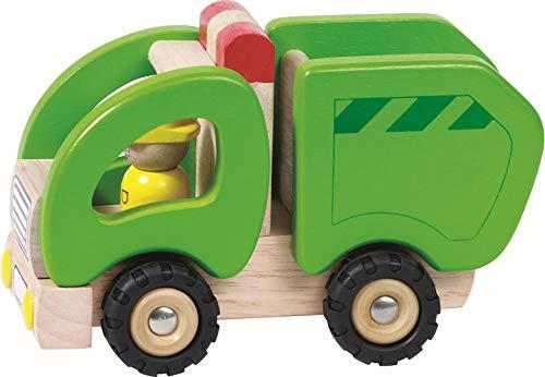 Goki - 2041274 - Figurine Transport Et Circulation - Voiture D'éboueurs