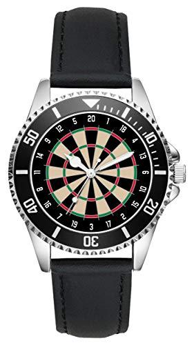 Geschenk für Dart Darts Dartspieler Fan Uhr L-6037