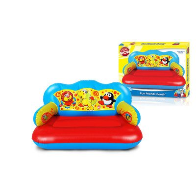 Play Wow Fun Friends Kid's Novelty Couch