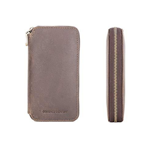 Mementoy - Bolsa de almacenamiento para reloj de viaje, estuche de cuero, accesorios