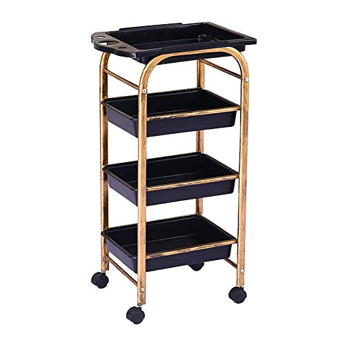 First choice Trolley On Wheels Tool Beauty Salon Cart with 4 Drawers, Hairdresser Beauty Tool Cart with Wheel, 15 kg Capacity, Medical Utility Rolling Trolley (Size : 5 Tier) plm46