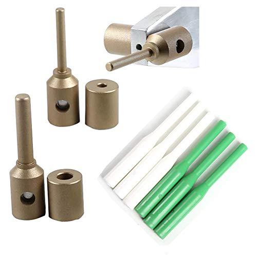Reparación de tuberías PPR Reparación de herramientas, Soldadura Die Glue Stick Repairer 7 + 11 Die +6 Glue Stick Atrapado/Filling Hole Fuser