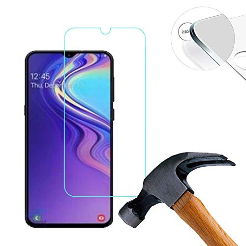 im77r Protector de Pantalla Premium 2.5D Cristal Vidrio Templado 9H Compatible para Samsung A50 (1 Protector Transparente)