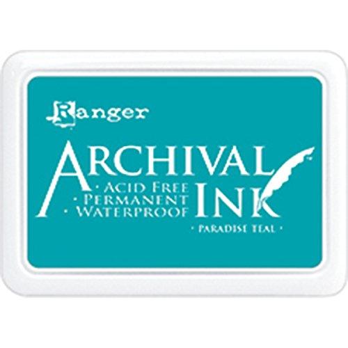 Ranger Archival Ink Pad Paradise Blaugrün, Türkis