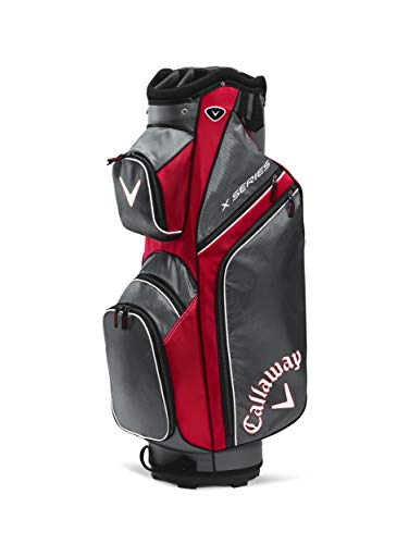 Callaway 2019 X-Series Sac de Golf, Homme - Multicolore(Rouge/Titane/ Blanc) - Taille unique