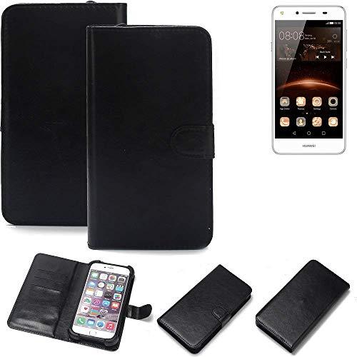 K-S-Trade® Handy Schutz Hülle Für Huawei Y5 II Single SIM Schutzhülle Bumper Schwarz 1x