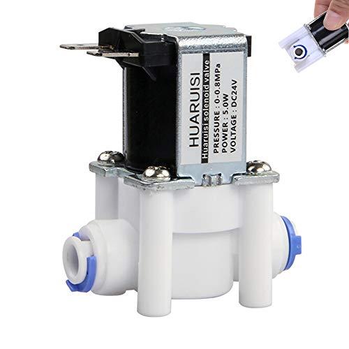 Fashion SHOP Magnetventil 1PC 24V DC elektrisches Wasserventil Magnetventil 1/4