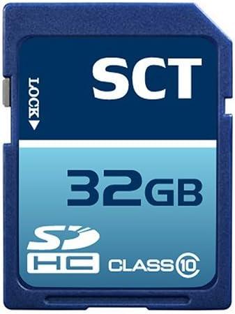 32GB SD Class 10 SCT Professional High Speed Memory Card SDHC 32G (32 Gigabyte) Memory Card for Nikon Digital Camera SLR D40 D40x D80 D90 D3100 D3000 D7000 with custom formatting