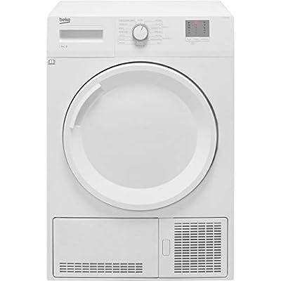 Beko DTGC8001RW Freestanding B Rated Condenser Tumble Dryer - White
