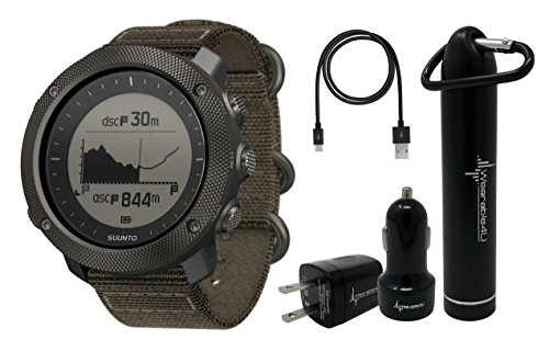 Suunto Traverse Alpha GPS/GLONASS Watch with...