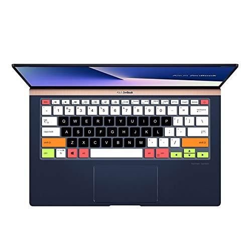 Funda protectora para teclado de ordenador portátil de 14 pulgadas para Asus Zenbook 14 UX433 UX433F Ux433Fn UX433FLC UX433FAC Ux433Fa-candyblack