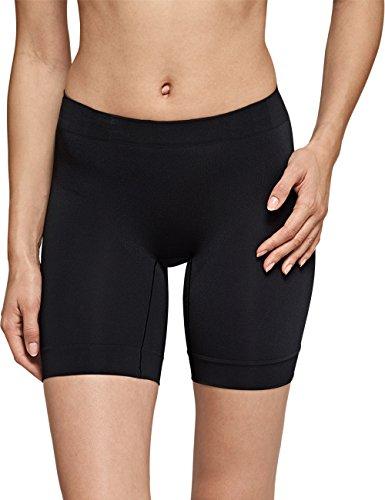 Schiesser Damen Longshorts Seamless Light Hipster, Schwarz (schwarz 000), 44 (Herstellergröße: XXL)
